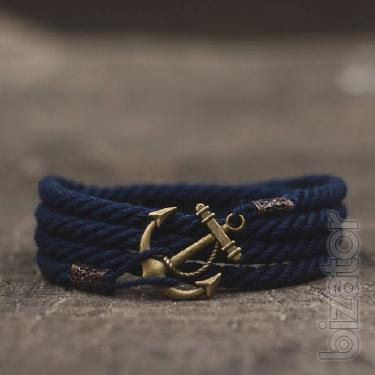Men's handmade bracelet in marine style from the brand's Maritime