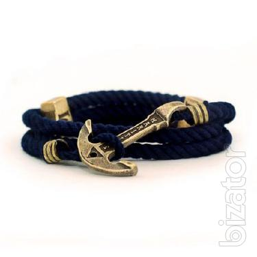 Mens jewelry anchor in a marine style - Captaine Alatriste