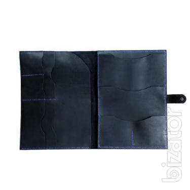 Leather Folder for documents (A4), organizer, folder, sailor, portfolio