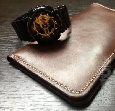 Leather purse, traveler