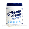 The means for removing calcium Coffeein Decalcinate,