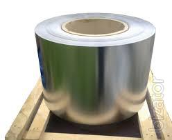 Tape 0.4 mm stainless steel grade 430/CR drawing 12x17.