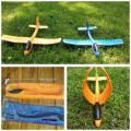 """A miracle toy airplane glider throwing """"acrobat"""""""