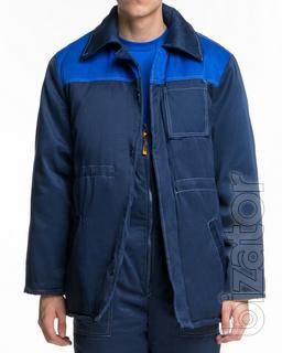 Simna jacket cornflower yoke