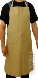 Canvas apron refractory