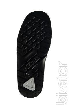 Shoes lace up Abeba 1038, black