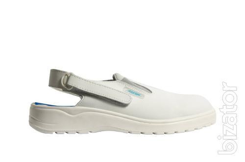 Clogs Abeba 1030, male, white