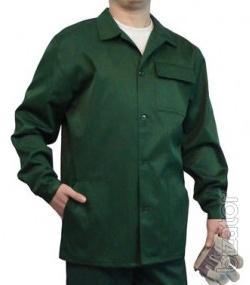 Working jacket green