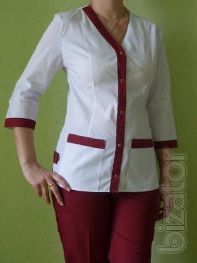 Medical costume women's rainbow Bordeaux