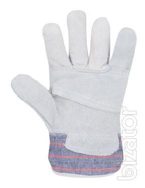 Gloves spilkovye, combined Gino