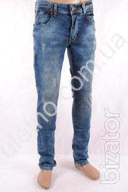 Jeans men wholesale from 170 UAH