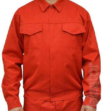 "Working jacket red ""Designer"""