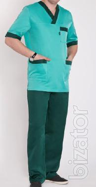 Mens medical costume Mustang