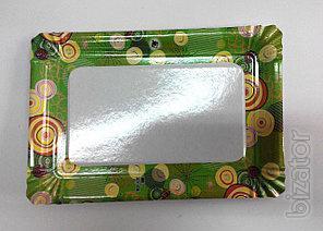 Plate paper rectangular