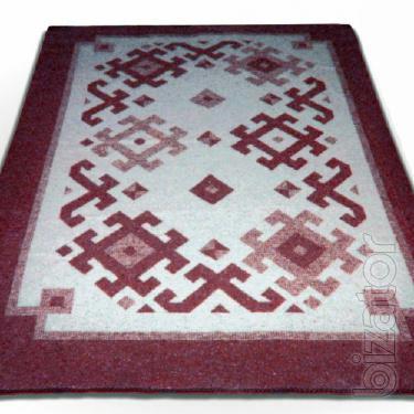 The blanket is 72%wool 140*200