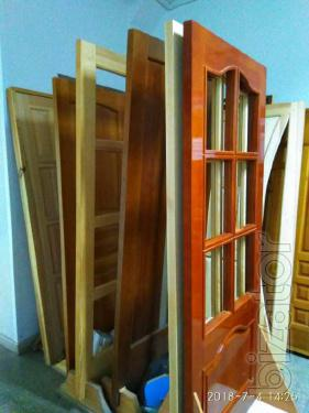 Doors and furniture BMF from natural wood