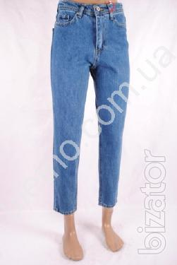 Jeans for women wholesale from 150 UAH
