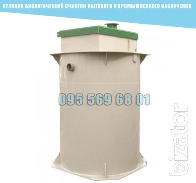 The biological treatment plant domestic and industrial use