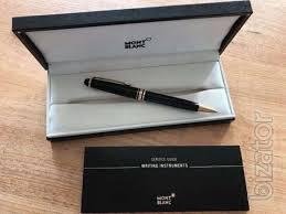 Ballpoint pen Montblanc Meisterstuck. The original. Torg
