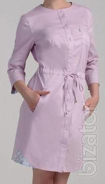 "Medical women's Bathrobe model ""angel"""