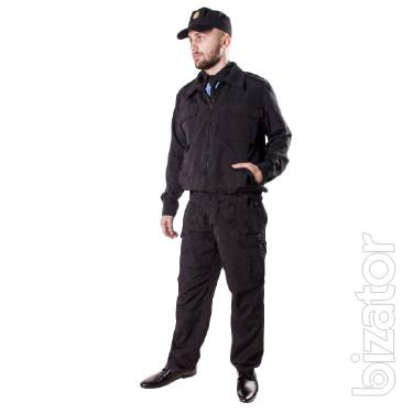 Suit for protection of TK.Rip-stop black