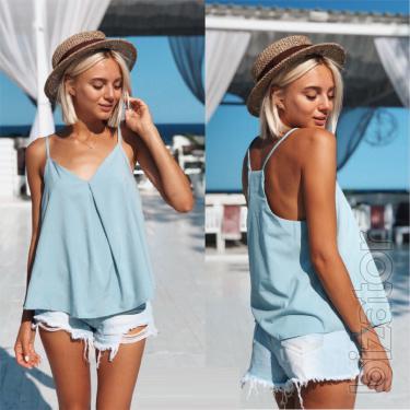 Women's summer blouse for pregnant