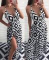 Long summer dress to the floor