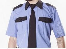 Security guard shirt short sleeve