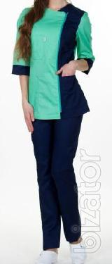 "Women's medical costume ""Olga""."