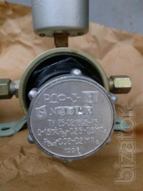 Pressure reducer with filter RDF-3-1, RDF-3-2