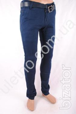Pants for men wholesale from 210 UAH