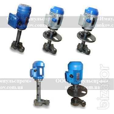 Of a coolant pump: PA-22, x14-22M, P-25M, P-50, P-100, P-200