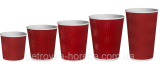 """Glasses Red """"T"""" of the corrugation-wave 110ml"""