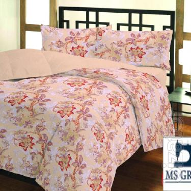 Single (EUR)bed linen Calico