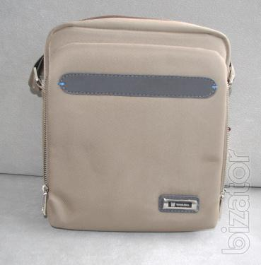 Men's bags from quality fabrics from famous manufacturers