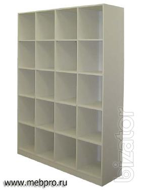 Racks / shelves: retail, archives, cells for toys