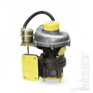 The turbocharger (turbine) TKR - 6.1 (04) with valve 620.1118010.04 TDT-55A; LHT-55; TLT-100A | D-245.16 L-261, D-245.9-67 (568)