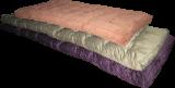 The mattress on the batting
