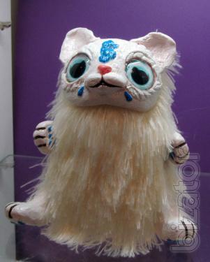 Interior toy handmade , Kitty