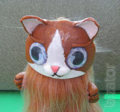 Red cat from the fairy forest