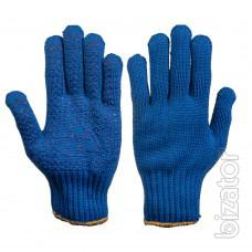 Working gloves, knitted gloves