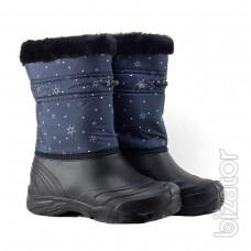 Women's boots, women's quilted