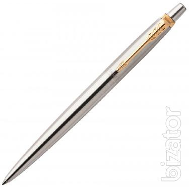 Branded Parker pens and Waterman