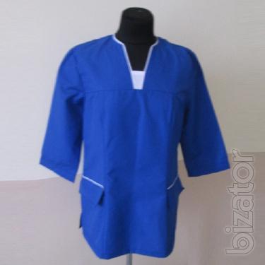 Jacket blue medical
