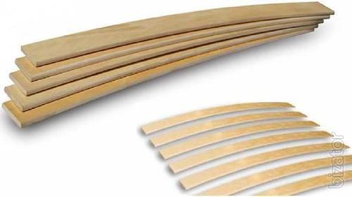 Inexpensive orthopedic beech slats for bed