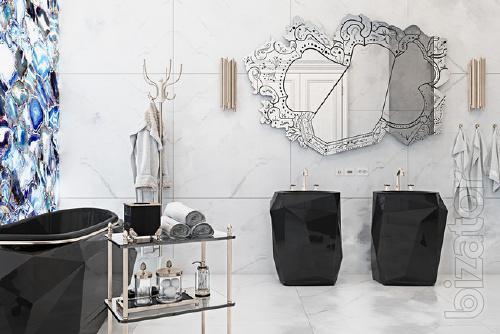 Italian furniture and bathroom accessories