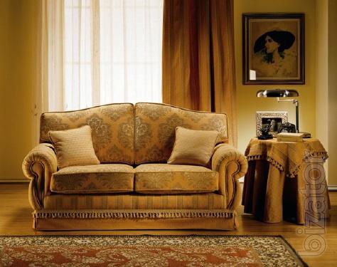 Italian furniture: sofas, chairs, Ottomans