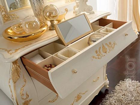 Italian cabinets, bookshelves, shelves, cabinets, chests of drawers