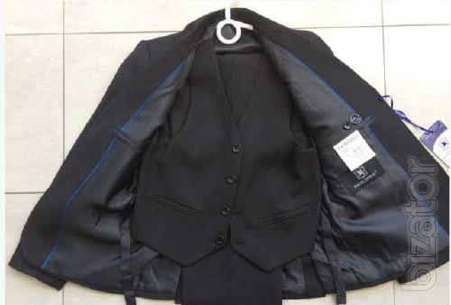 School three-piece suit for boy