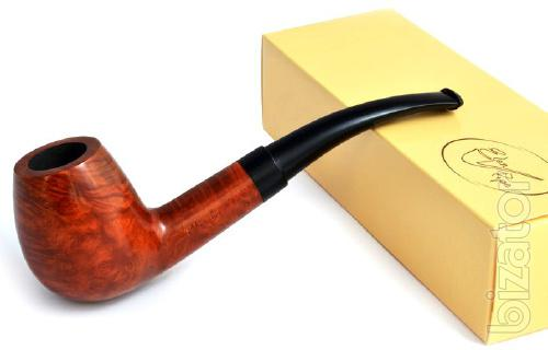 Pipes of briar and pear.